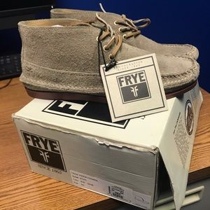 FRYE Mens Boots. BRAND NEW with original tags!